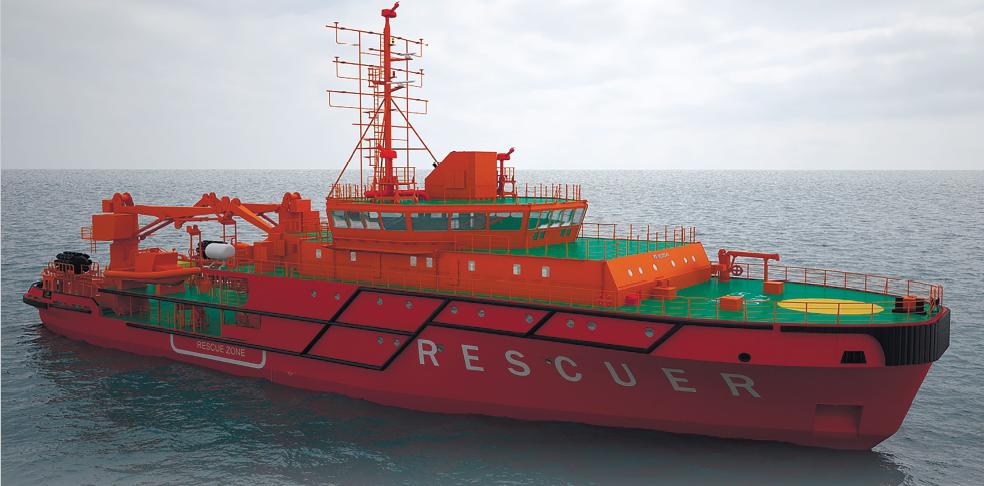 Аварийно-спасательное судно проекта MPSV07