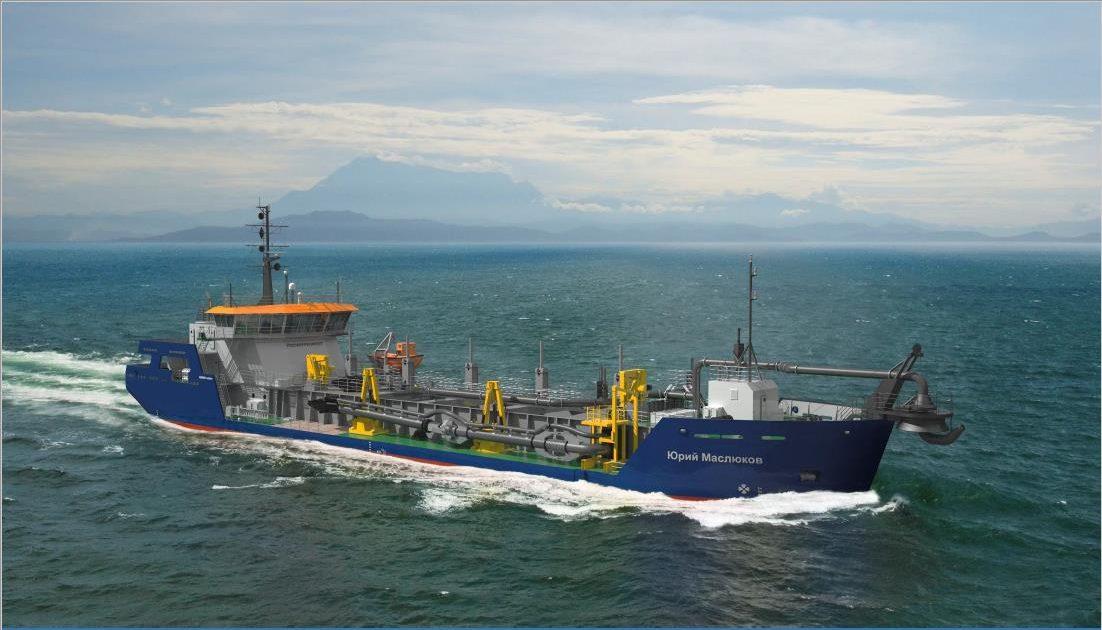 дноуглублительное судно проекта THSD2000