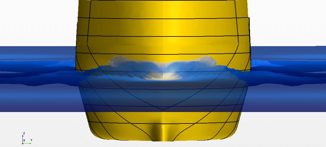 Расчеты ходкости и сопротивления методом CFD в системе SIEMENS PLM