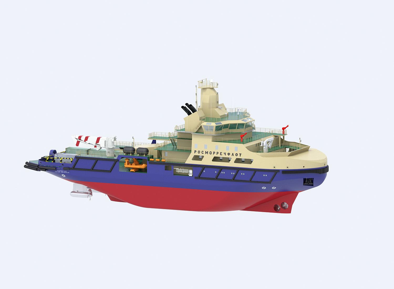 Портовый ледокол IBP07
