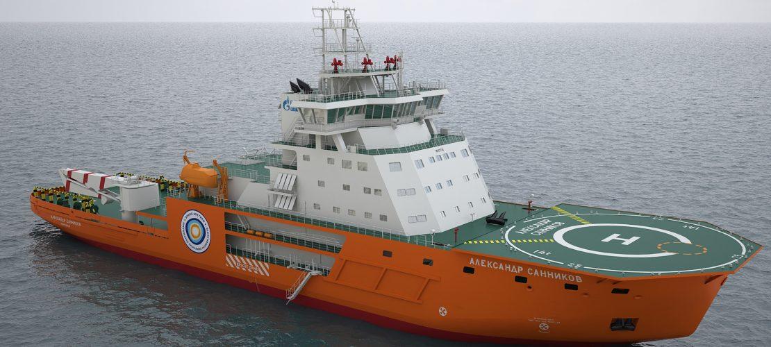Ледокольное судно обеспечения (проект IBSV01)