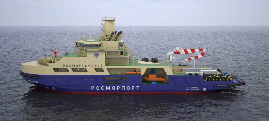 Портовый ледокол (проект IBP07)