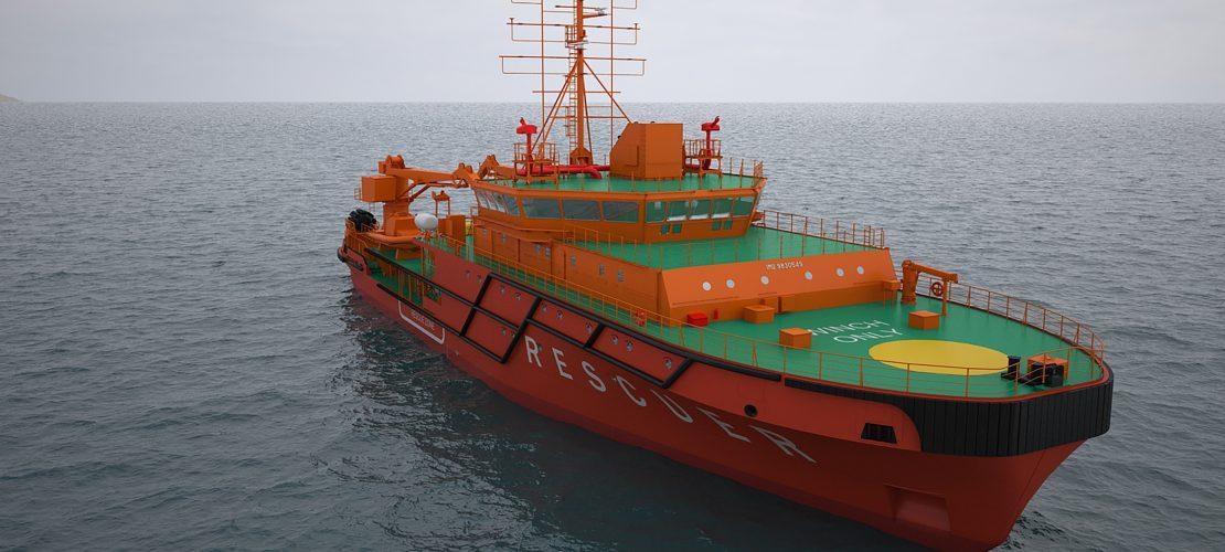 Многофункциональное аварийно-спасательное судно (проект MPSV07)
