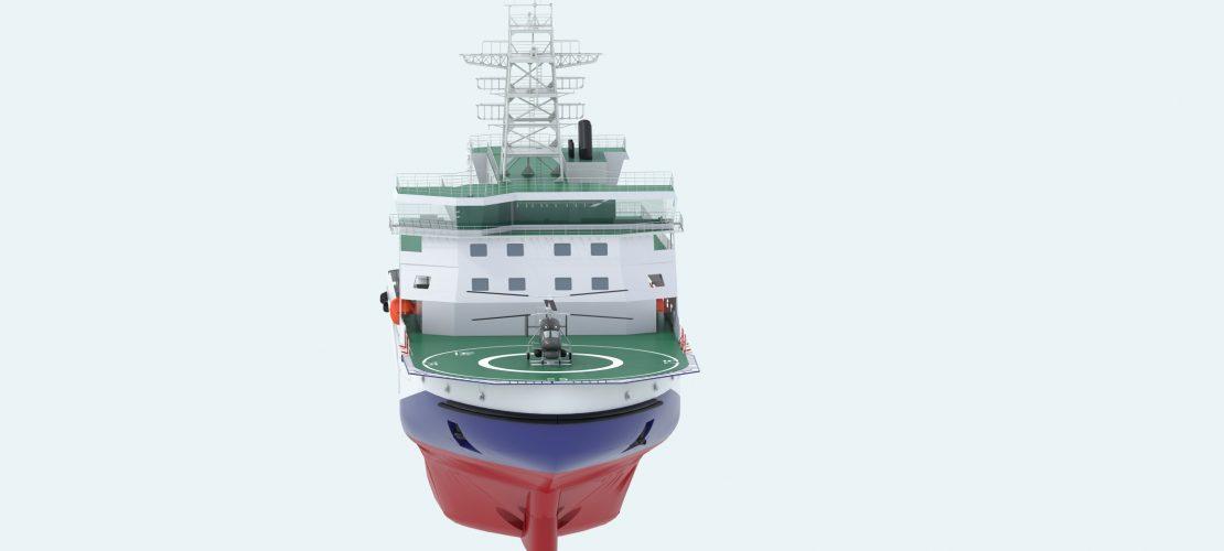 Многофункциональное ледокольное судно обеспечения (МЛСО)
