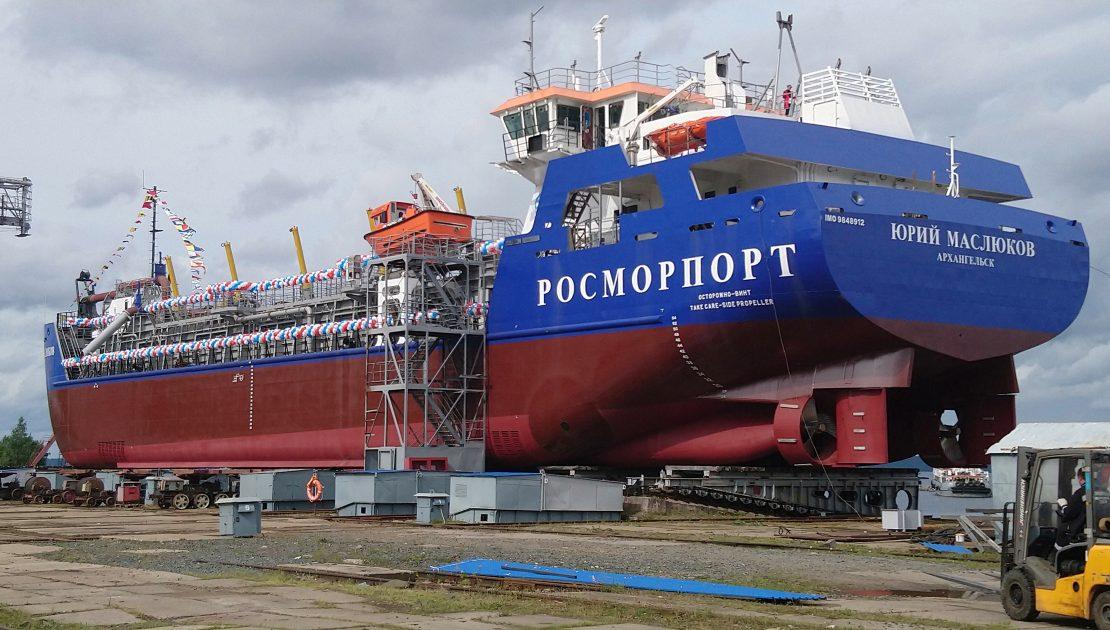 Дноуглубительное судно проекта THSD2000