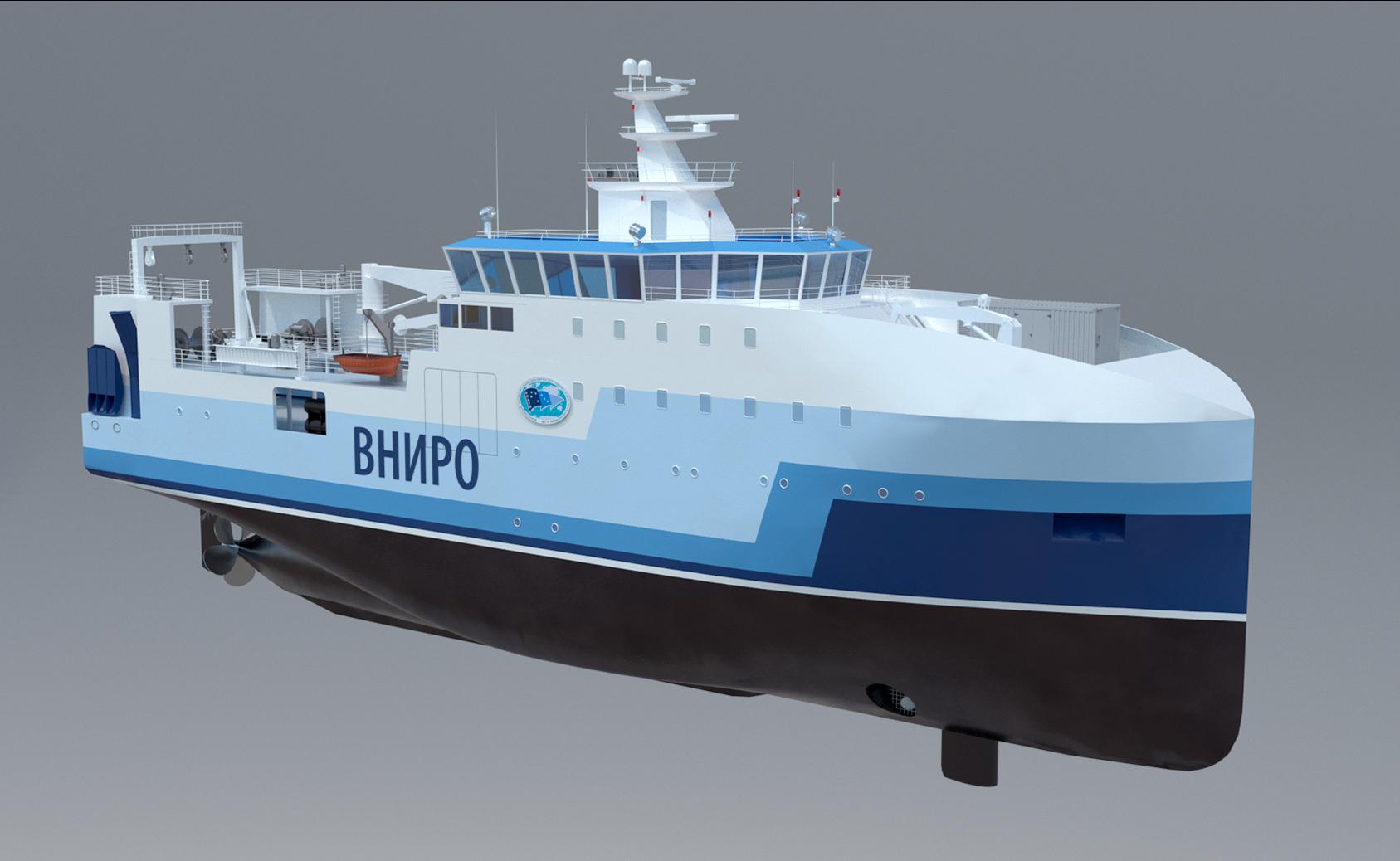 Научно-исследовательское судно пр.17050